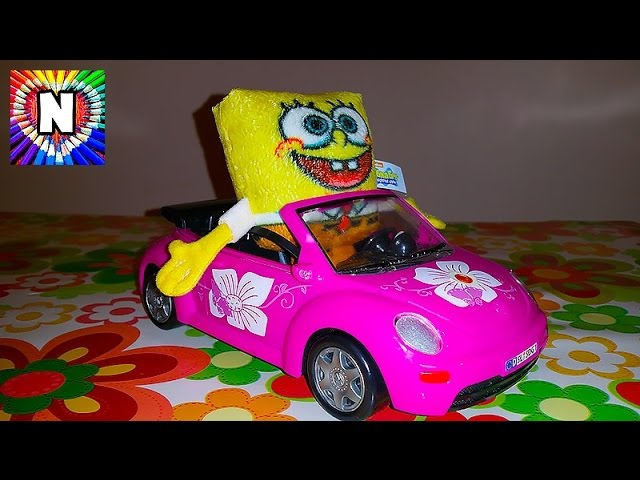 Gubka-Bob-Fiksiki-igrushki-Video-dlya-detej-SpongeBob-Fixiki-toys-for-children-Video