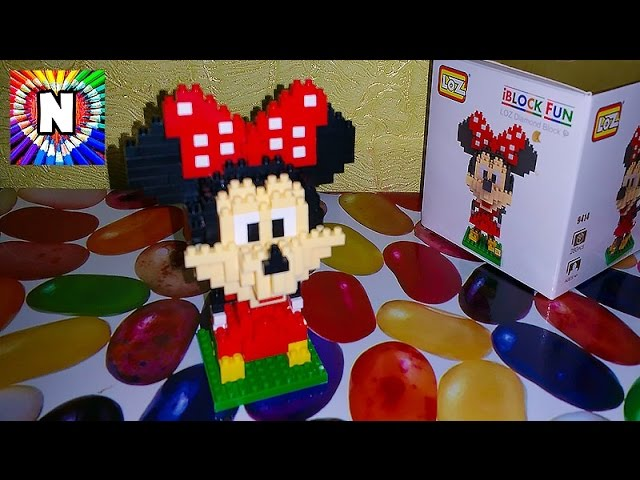 MINNI-MAUS-i-NASTYUSHIK-IGRUSHKI-Minnie-Mouse-Puzzle-Mini-Maus-pazl-Video-dlya-detej