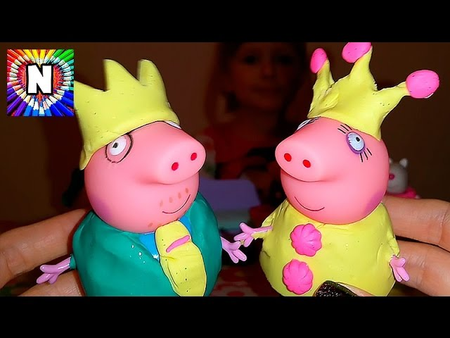 SVINKA-PEPPA-MULTIK-Prppa-Pig-Princess-Play-Doh-Video-dlya-detej-Svinka-Peppa-Printsessa