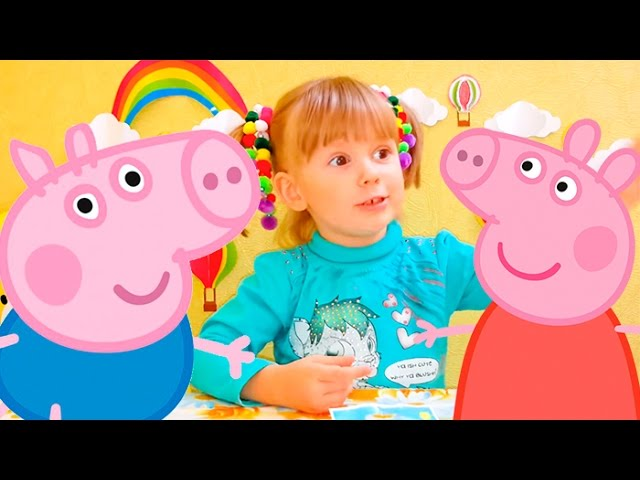 SVINKA-PEPPA-Novye-serii-Igrushki-Paketiki-syurpriz-Peppa-Pig-unpacking-bag-with-surprise-toy