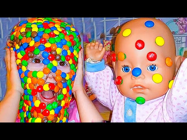 BAD-BABY-DETI-v-SHOKOLADE-CHOCOLATE-FACE-LOTS-OF-CANDY-CHALLENGE