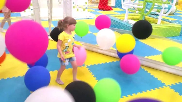 Kids-Indoor-playground-Family-fun-play-area-with-slide-for-children-Nursery-rhymes-song-for-kids