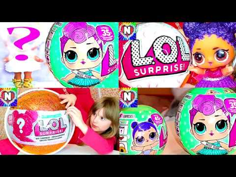Kukly-LOL-SYURPRIZY-i-BARBI-Igrushki-Kukly-LOL-Surprise-Dolls-Video-dlya-Detej-Pupsiki-LOL